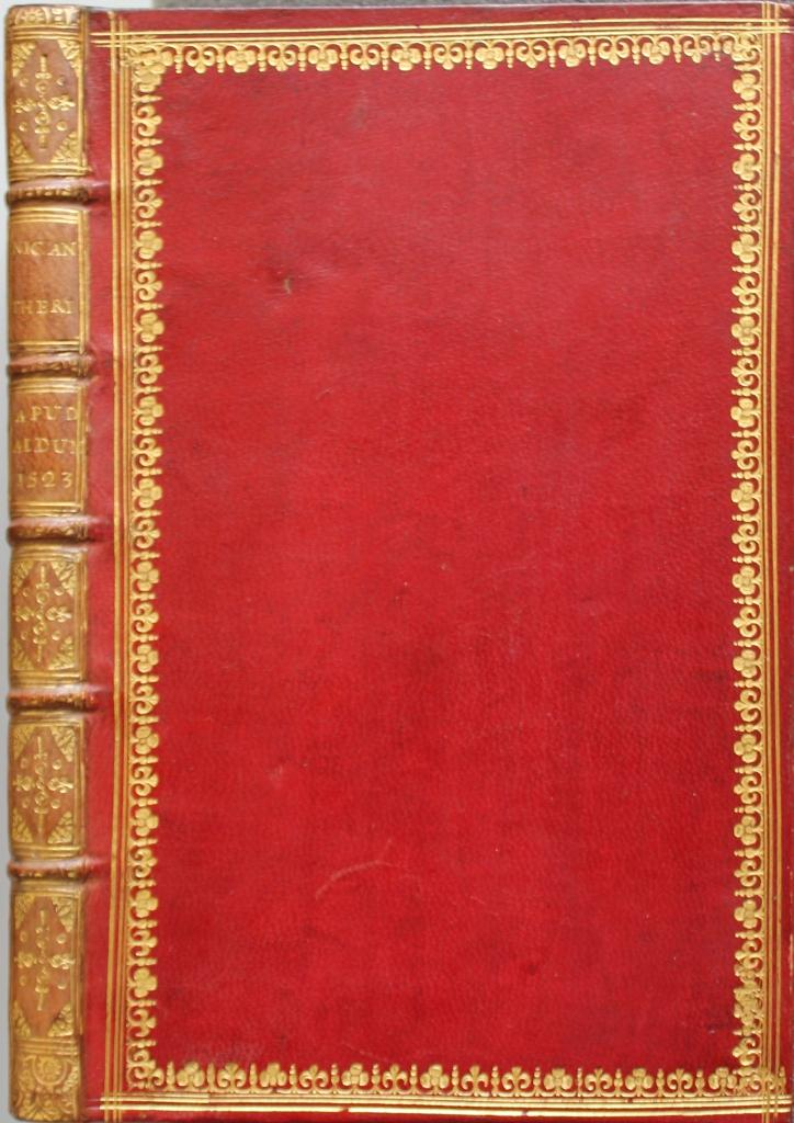 English binding Nicander.